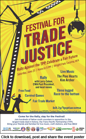 FESTIVAL FOR TRADE JSUTICE @ Wright Park in Tacoma | Tacoma | Washington | United States