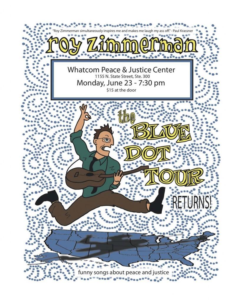 BLUE DOT TOUR - ROY ZIMMERMAN