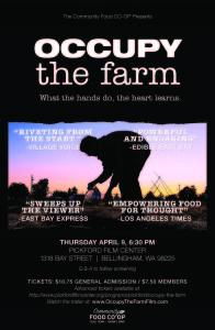 OCCUPY THE FARM-APRIL 2015
