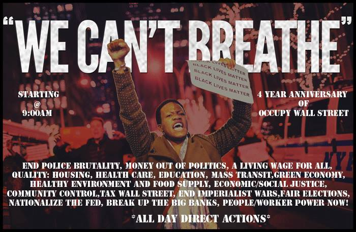 WE CAN'T BREATHE - 2015 MARCH